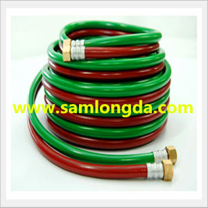 Oxygen and Acetylene Twin PVC Welding Hose pictures & photos