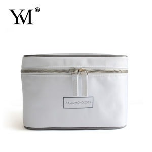 2015 High Quality Portable White Nylon Cosmetic Bag pictures & photos
