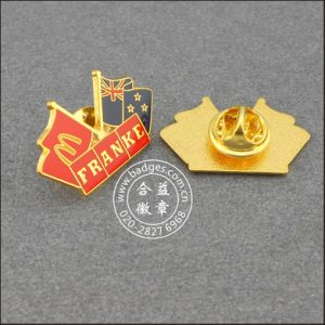 Australian and Mcdonald Flag Lapel Pin Badge (GZHY-LP-006) pictures & photos