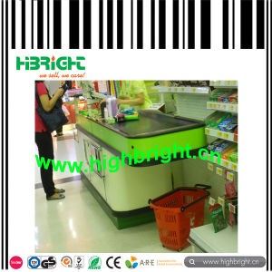 Supermarket Retail Checkout Counter for Sale pictures & photos