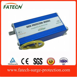 RJ45 surge protector of 8 lines protection pictures & photos