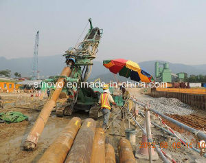 Model SM1800 Full hydraulic crawler multi-functional rotary drilling rig pictures & photos