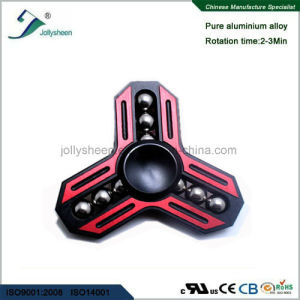 Newest Model Tri Leaves with Nine Balls Alloy of Hand Spinner Toys pictures & photos