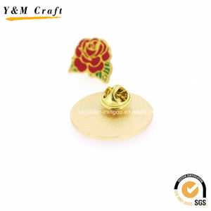 Wedding Using Enamel Metal Flower Lapel Pins Ym1108 pictures & photos