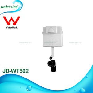 Hot Selling Watermark Water Saving Concealed Dual Flush Front Button Cistern pictures & photos