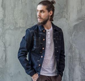 OEM Cotton Simple Fashion Autumn Latest Leisure Men′s Coat Jeans Jacket pictures & photos