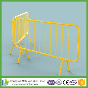 Powder Coated Welded Crowd Control Barrier pictures & photos