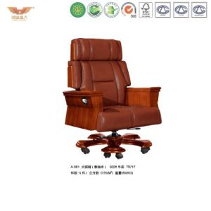 Luxury Wooden Executive Leather Chair (A-061) pictures & photos
