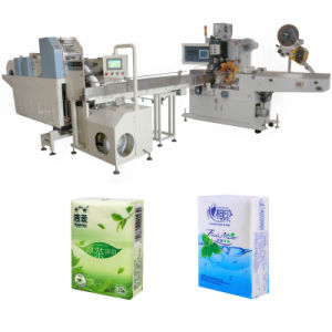 Pocket Tissue Paper Converting Package Machine pictures & photos