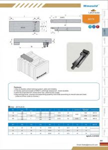Mechanical Interlocking Design Latch Lock for Mould pictures & photos