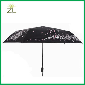 Cheap Custom Print Design Standard Size 23inch Color Changing Folding Umbrella for Adult pictures & photos