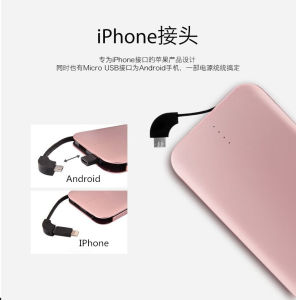 Newest 10000mAh Li-Polymer Power Bank Charger Thin pictures & photos