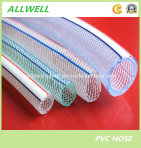 PVC Flexible Fiber Reinforced Braided Water Irrigation Garden Hose pictures & photos