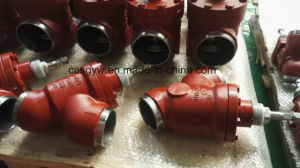 Cold Room Use Ammonia Butt Welding Valve pictures & photos