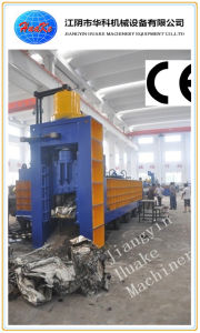 CE ISO (500 T -630MTS force) Hydraulic Heavy Duty Car Shear Baler pictures & photos