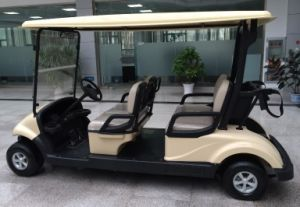 Green Power 4 Seater Electric Golf Cart with Suitable Price From Dongfeng Motor on Sale