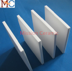 Length 100mm Width 50mm High Purity Wear-Resistance Alumina White Ceramic Plate pictures & photos