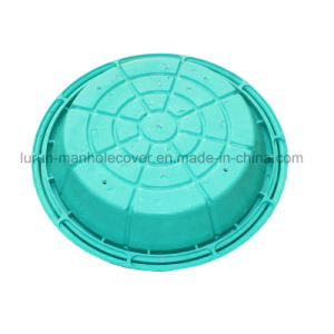 Polymer Resin Greening Manhole Cover for Lawn pictures & photos