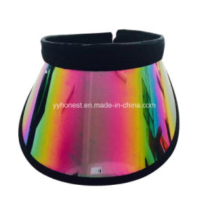 2017 Hot Sell Promotion Customized Colorful PVC Sun Visor/Cap/Hat pictures & photos