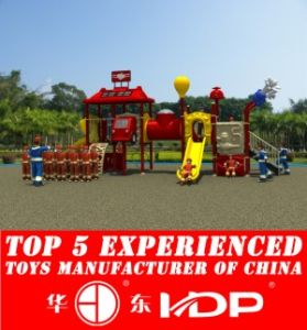 HD2013 Outdoor Fire Man Collection Kids Park Playground Slide (HD13-014B) pictures & photos