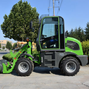 Mini Radlader 800kg Small Wheel Loader with Hydraulic Transmission pictures & photos