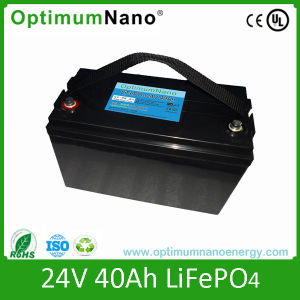 LiFePO4 24V 40ah Battery for Electric Scooter with PCM pictures & photos