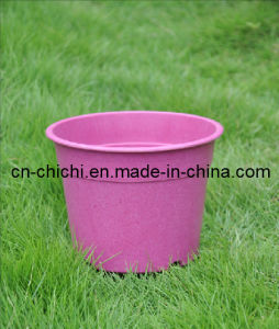 Flower/Plant Pot/Bamboo Fiber/Plant Fiber/Vase/Garden/Promotional Gifts/Home Decoration/Garden Decorations/Natural Bamboo Fiber Biodegradable Pots (ZC-F20225)