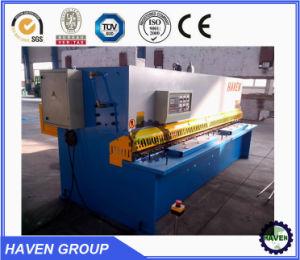 hydraulic Aluminium sheet shear machine pictures & photos