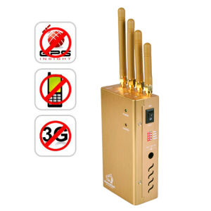Handheld GSM GPS 3G Signal Jammer Blocker with Cooling Fans pictures & photos
