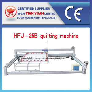 Hfj-25b Single Needle Computerized Quilting Machine pictures & photos