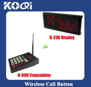Wireless Queue Calling System for Restaurant Waiting Services pictures & photos
