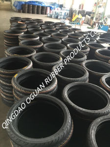High Quality Flat Pattern Motorcycle Tire/Tyre (300-18) pictures & photos
