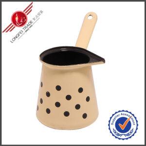 Mutli Customized Decal Enamel Turkish Coffee Pot Kettle pictures & photos