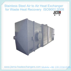 Stainless Steel Air to Air Heat Exchanger for Waste Heat Recovery pictures & photos