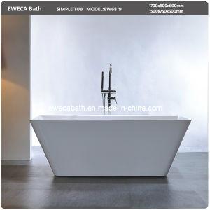 clean acrylic free standing bath tub ew6819 china free standing