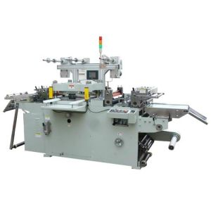 Roll Feeding Flatbed Semi Automatic Die Cutting Machine (MQ-420BIV) pictures & photos