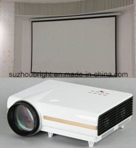 High Quality HDMI Video LED LCD Projector pictures & photos