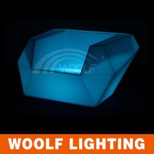 More 300 Designs LED Events Furniture LED Illuminated Bar Sofa Set pictures & photos