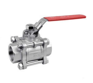 3PC Ball Valve Screw Ends 1000wog pictures & photos