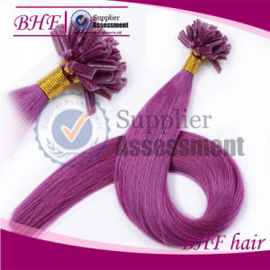 I Tip U Tip V Tip Pre-Bonded Hair Extensions pictures & photos