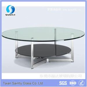 Practical Tempered Glass Table Top pictures & photos