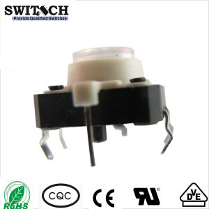SGS Illuminated Dustproof Waterproof Micro 6*6mm Tact Switch
