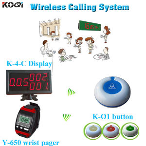 Long Range Wireless Transmitter for Restaurant Wireless Waiter Call System pictures & photos