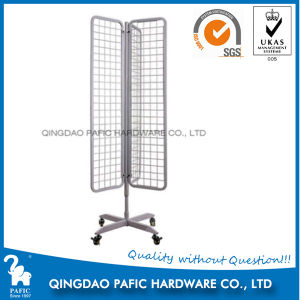 Mesh Wire Steel Hanging Display Shelf pictures & photos