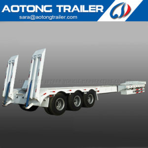 Extendable Low Bed Semi Trailer/40m Wind Blade Transport Truck Trailer pictures & photos