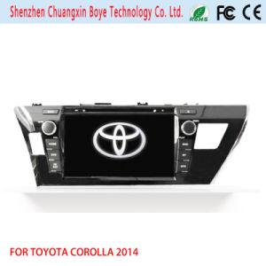 Car DVD Player with GPS Navigation Fortoyota Corolla 2014 (RHD)