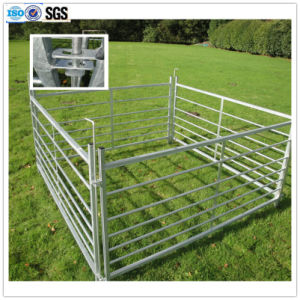 Galvanized Sheep Fence Panels with Loops Farm Fence Post
