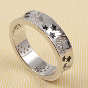 Latest New Design Fashion CZ Womans Ring