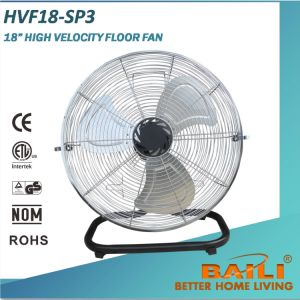 "18"" High Velocity Industrial Floor Fan with Stable Base pictures & photos"