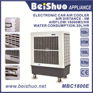 670W Industry Electrical Cooling Fan Air Cooler 160L Water Tank Capacity Portable Evaporative Air Cooler pictures & photos